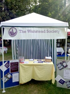 Our stand at the Wanstead Festival
